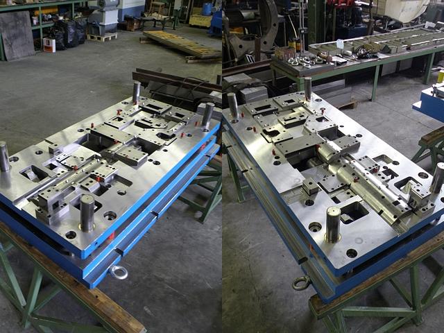 Ero Projekt d.o.o. Toolshop-Werkzeugbau-Progresivno orodje za štancanje krivljenje progressive stamping bending tool biege stantzwerkzeuge Mercedes 3