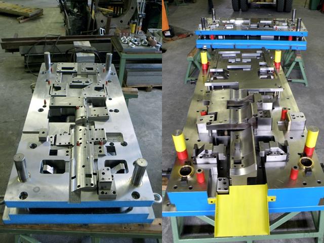 Ero Projekt d.o.o. Toolshop-Werkzeugbau-Progresivno orodje za štancanje krivljenje progressive stamping bending tool biege stantzwerkzeuge Mercedes 4